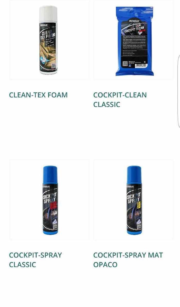 CLEAN TEX FOAM-COCKPIT CLEAN CLASSIC-COCKPIT SPRAY CLASSIC-COCKPIT SPRAY MAT logo