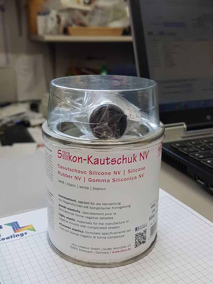 vernice di silikon-kautschuk Nv