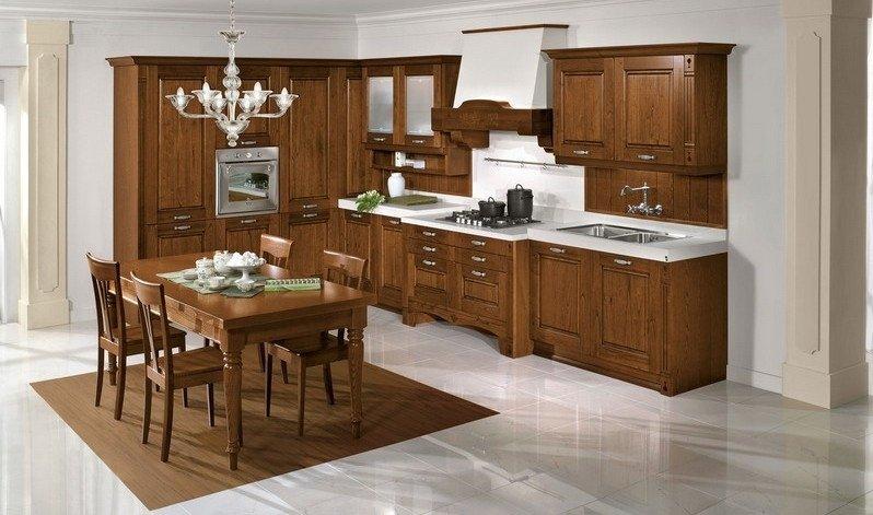 cucine in legno di faggio