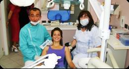 allineamento dentale con apparecchiature invisibili