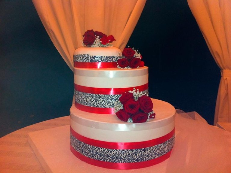 wedding cake a Latina Briciole di Zingarelli