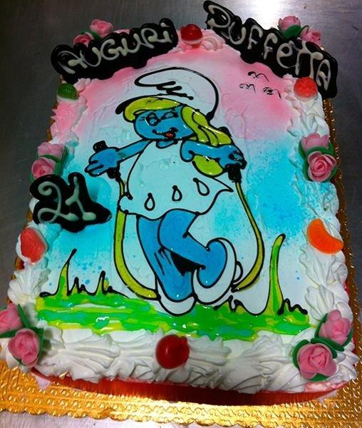 Torta compleanno bambini Briciole di Zingarelli
