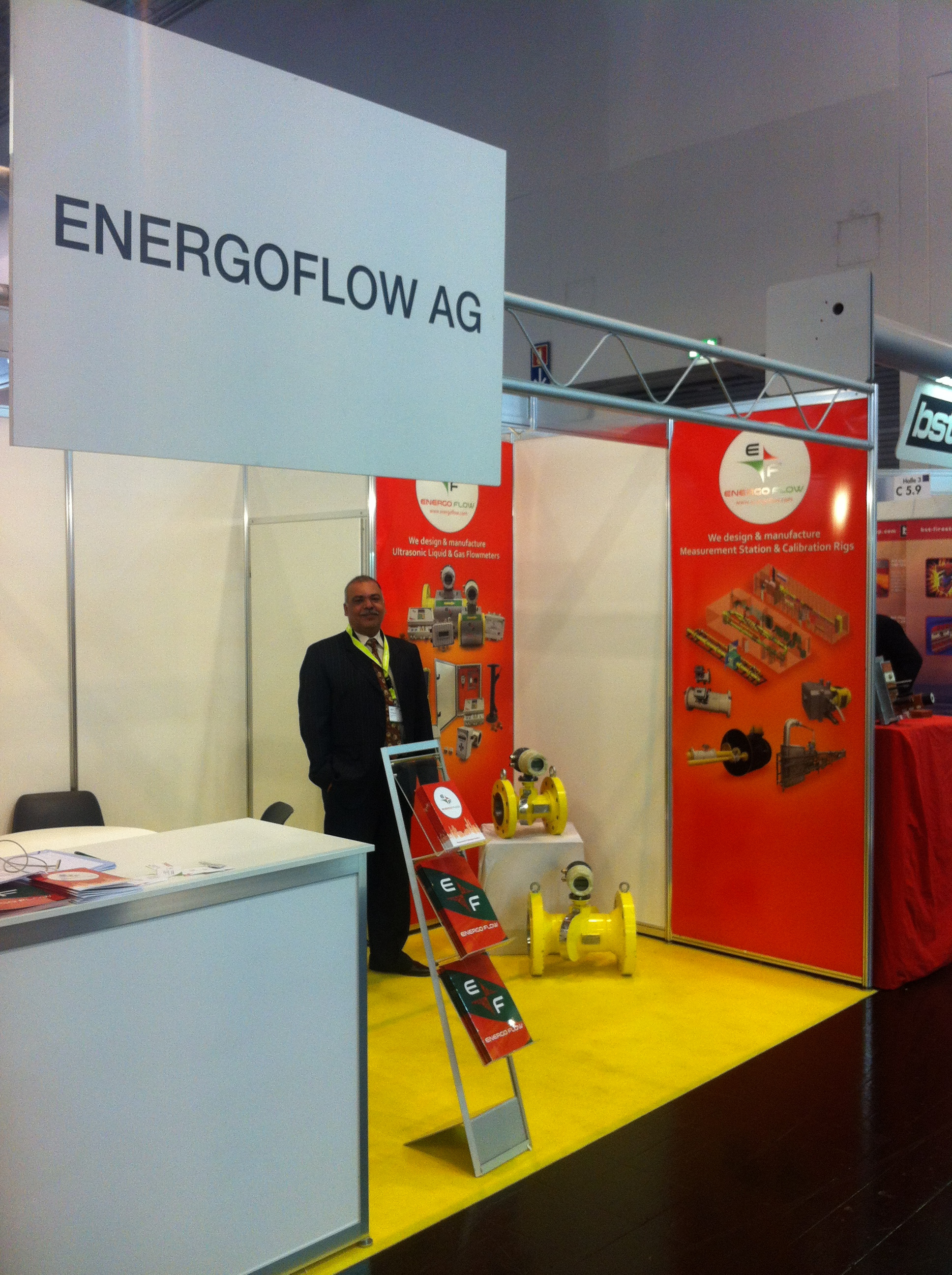 Energoflow AG at GAT 2015 Exhibition