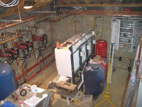 Central heating boilers - Fordham - East Anglia Heating Ltd - Machines