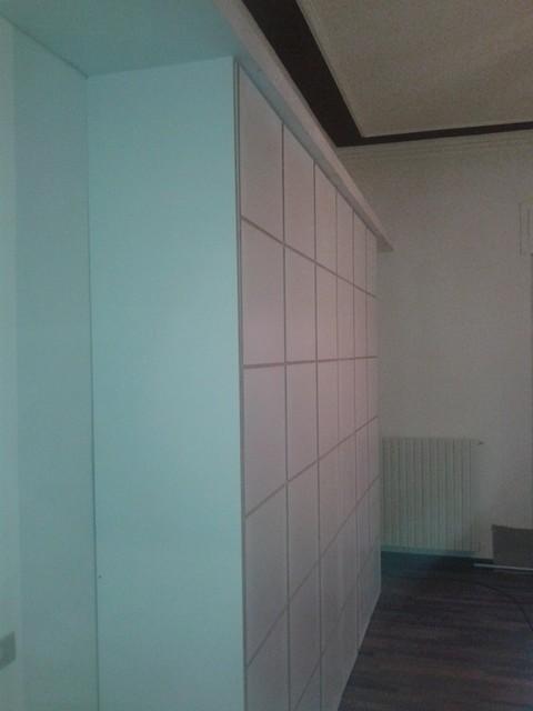 armadio a muro legno