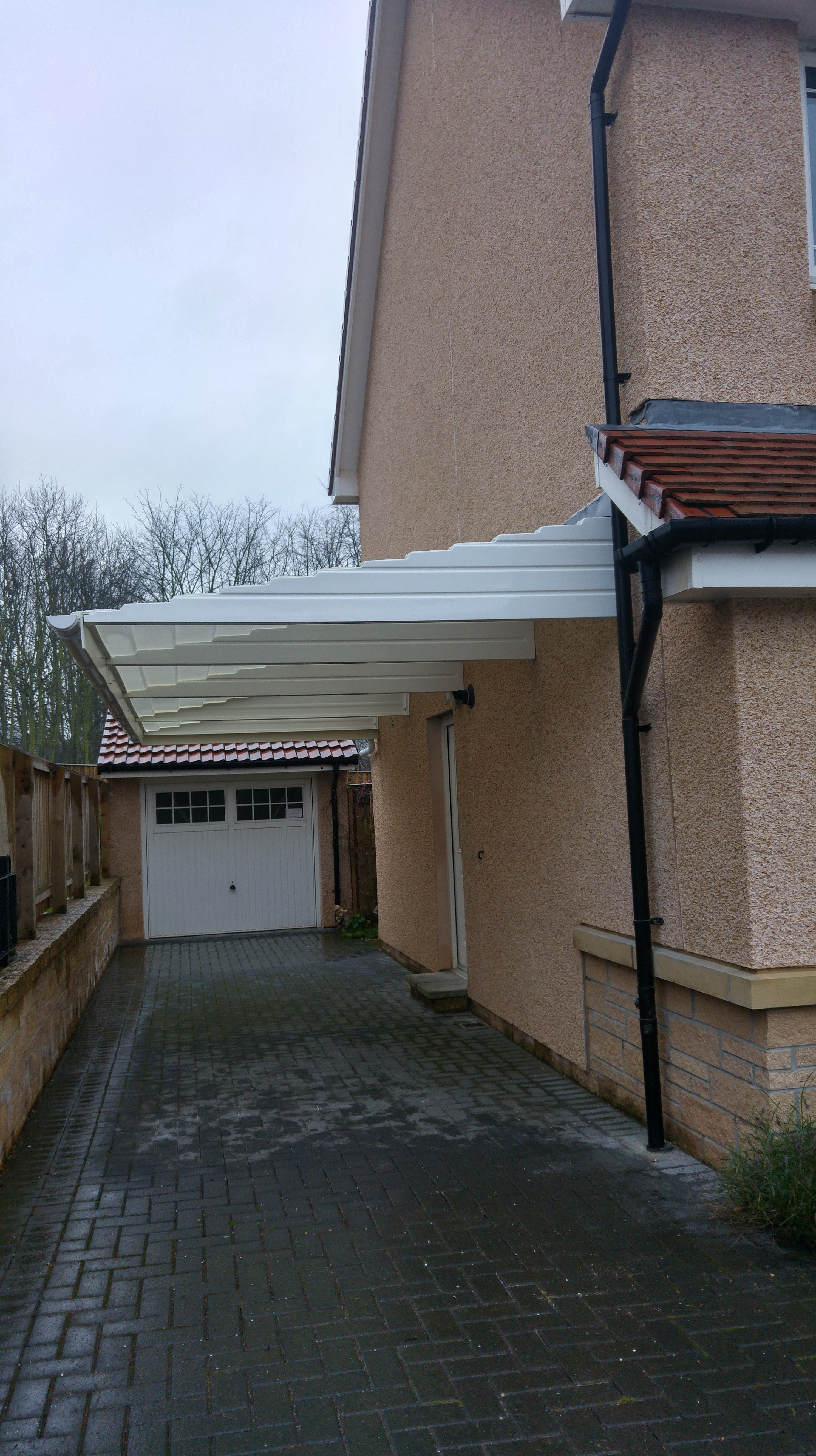 Canopy for residential homes