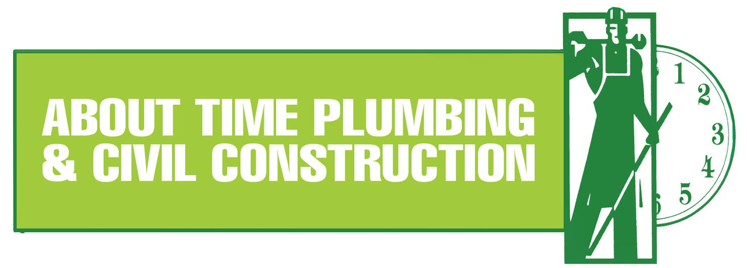 About time plumbing logo
