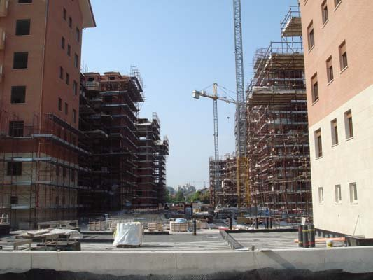 Costruzione di edifici a Varese