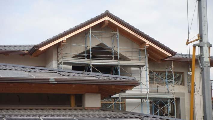 Casa in costruzione a Varese