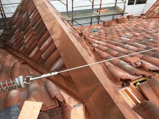 Tetto in costruzione a varese