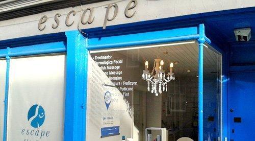 Escape spa front view in Edinburgh