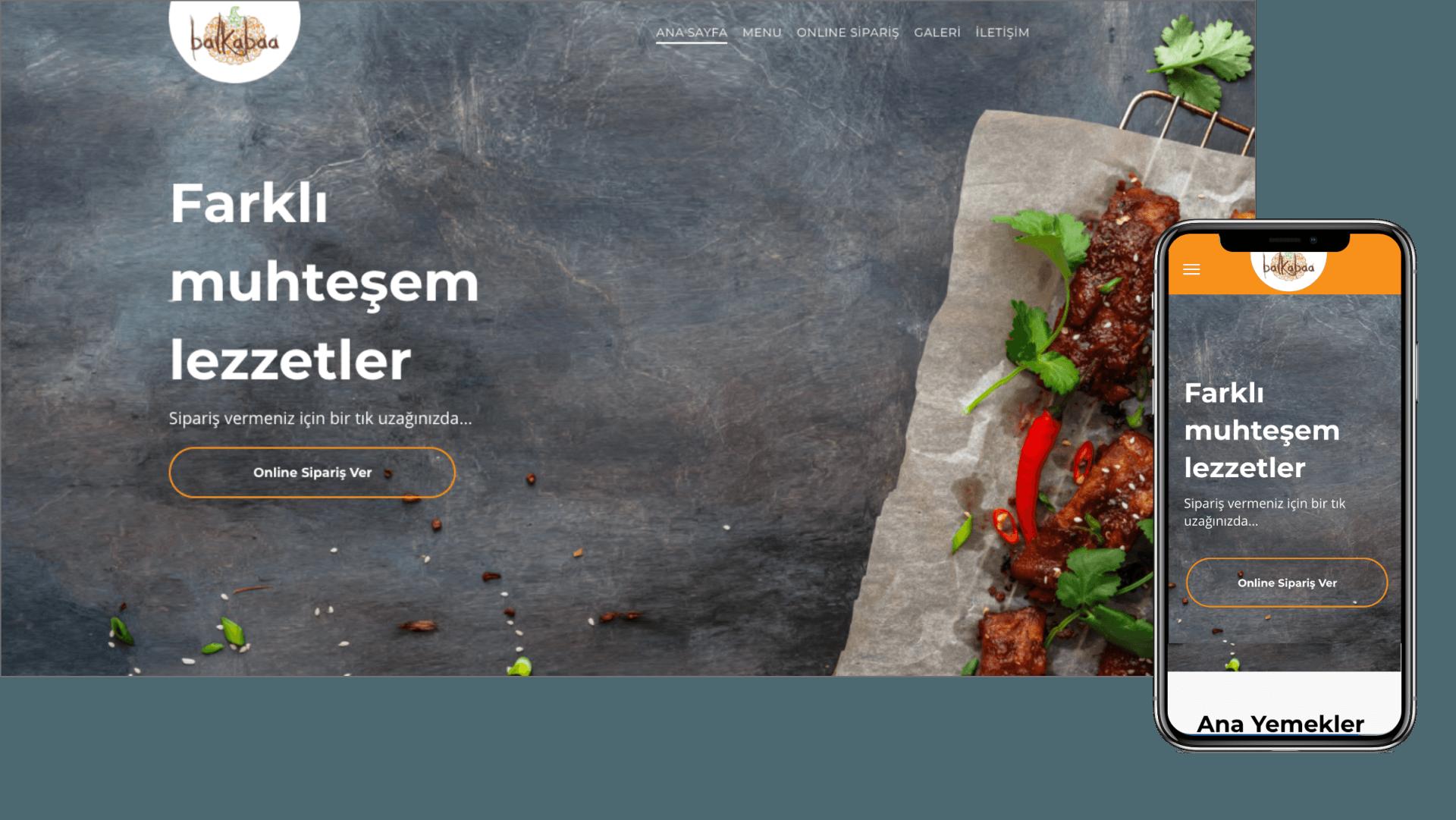 Munch Online Yemek Sipariş Sistemi