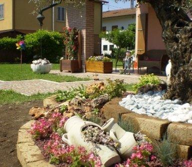giardino roccioso, manutenzione aree verdi, manutenzione prati