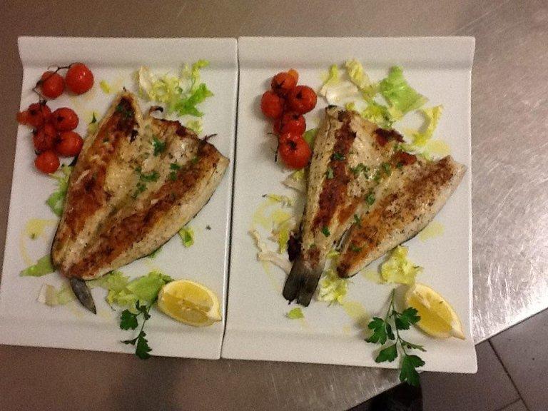 pesce gratinato