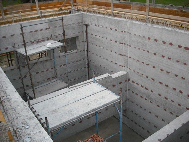 Impalcature in cemento