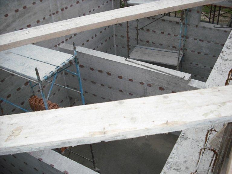 Travi e impalcature in cemento