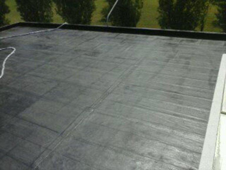 Superficie in cemento impermeabilizzata