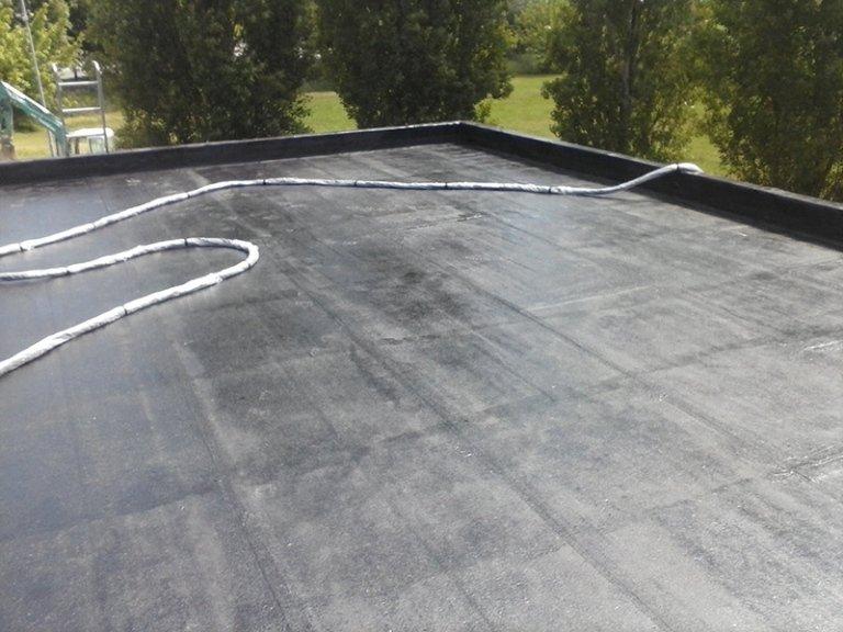 Particolare di superficie in cemento impermeabilizzata