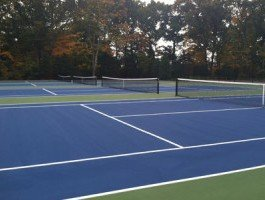 tennis court construction Westport, CT