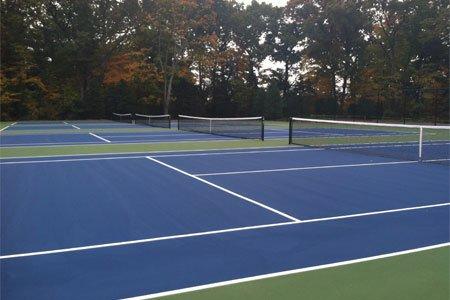 tennis court resurfacing New Canaan, CT