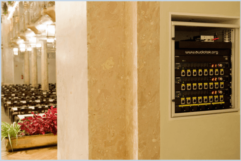 Verkabelungen von Audio-Anlagen