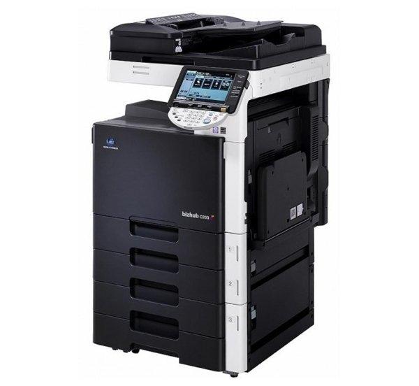Stampante fotocopiatrice Konica Minolta bizhub c203
