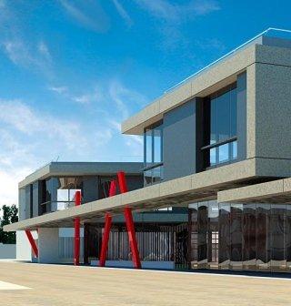 Edificio Commerciale e Direzionale a Macherio