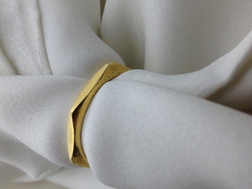 Handmade wedding bands