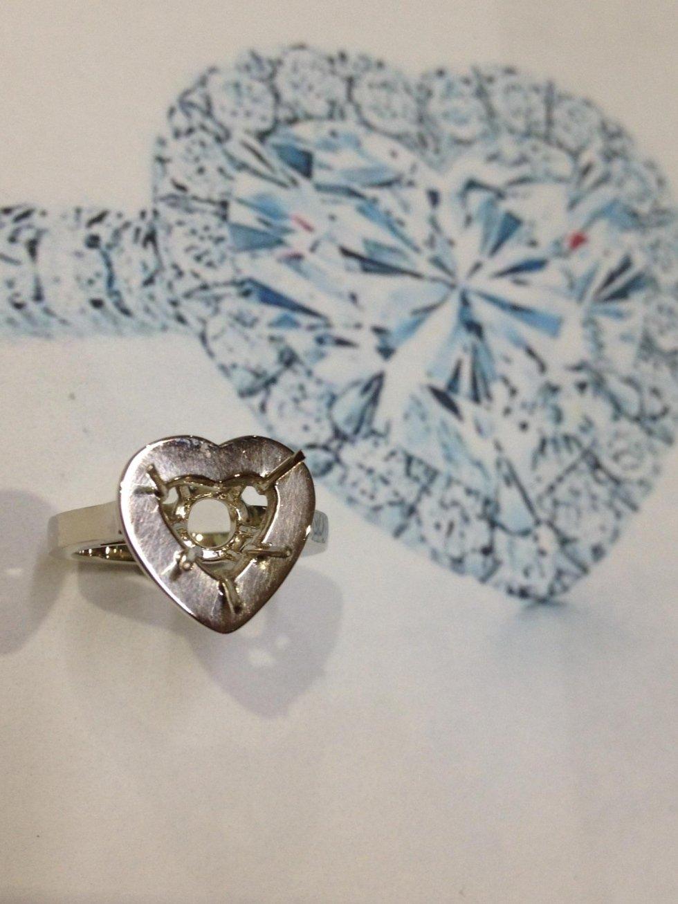 Anelli con diamanti per fidanzamento