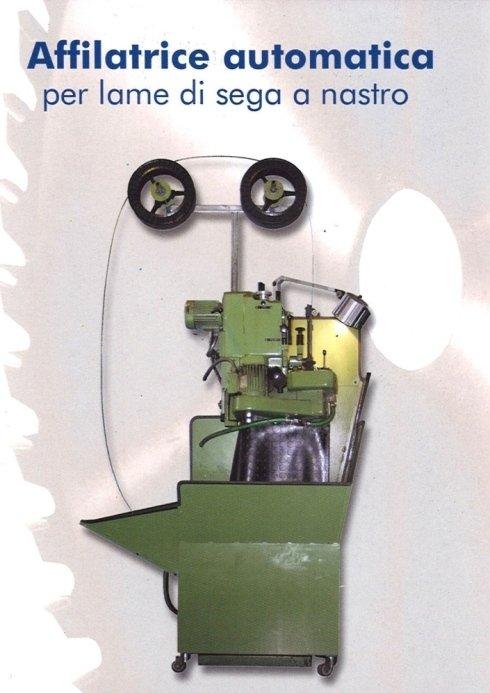 Affilatrice automatica per lame di sega a nastro
