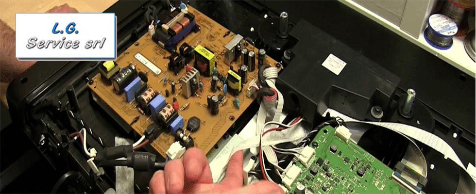 riparazione tv led