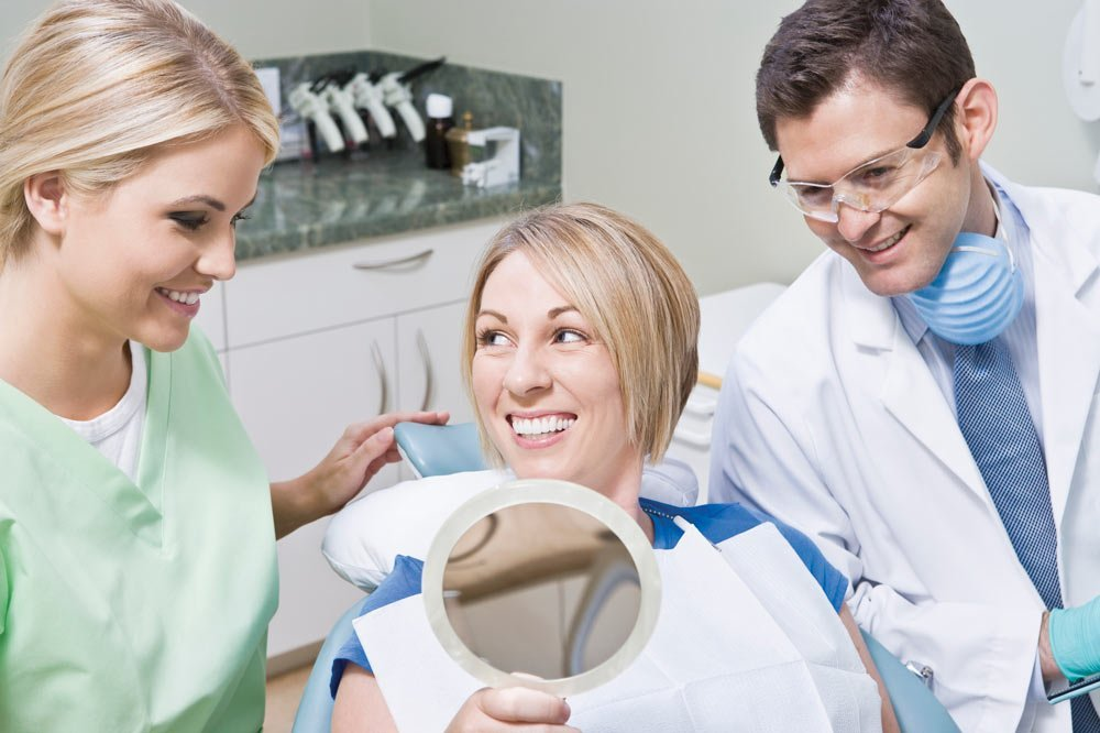 dentists and patient