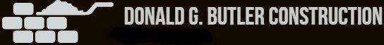 DONALD G. BUTTER CONSTRUCTION  Logo
