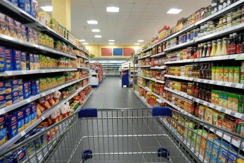 Verkauf von Lebensmitteln