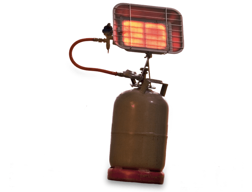 Air control and heating equipment