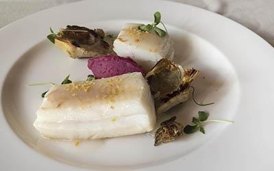 piatto di baccalà