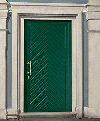 porta da esterno  verde
