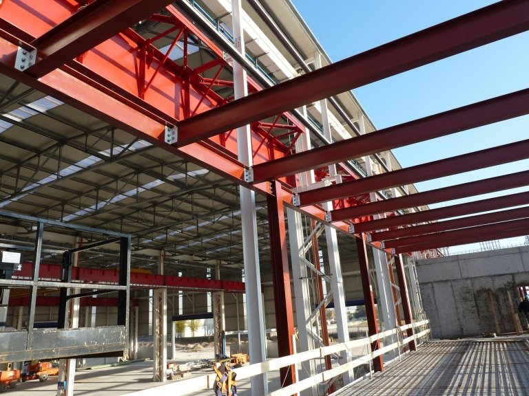 costruzione capannoni industriali
