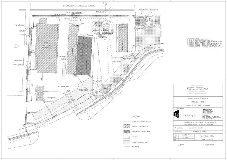 progettazione capannone industriare friuli venezia giulia