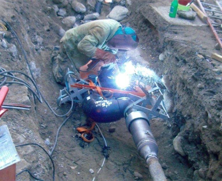 saldatura tubi per acquedotti