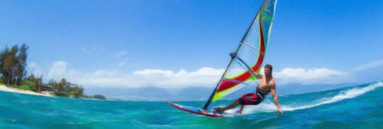 Mykonos windsurf