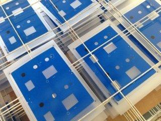 stampa su vetro