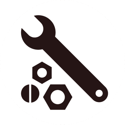wrench and bolts