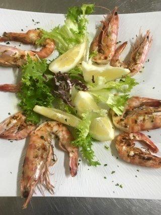 ristorante con specialità di pesce