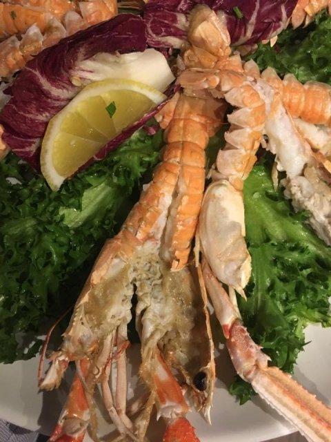 spacialità pesce ristorante