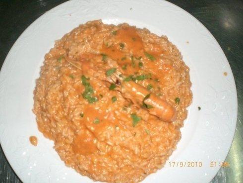 risotto con pesce, riso alla pescatora, risotti
