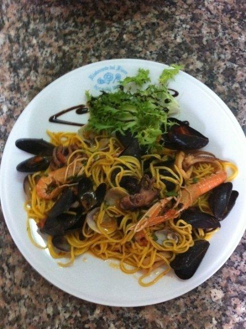 pasta allo scoglio, spaghetti allo scoglio, cucina di mare