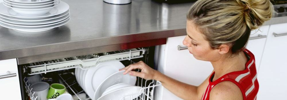 Woman happy with her appliance service in Wellington
