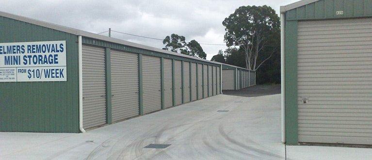 elmers removals and storage mini storage unit