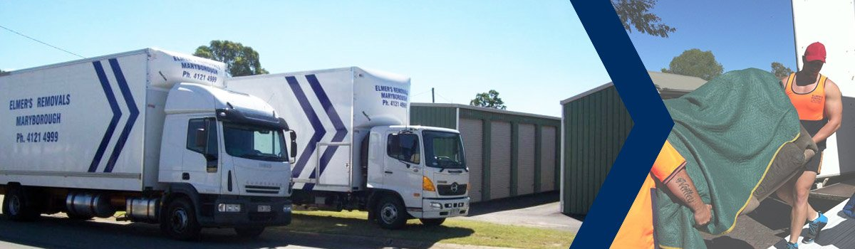 elmers removals and storage storage trucks